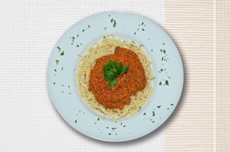 Abbildung von Pasta Bolognese