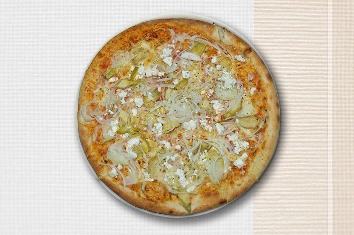 Abbildung von einer Pizza Carciofini