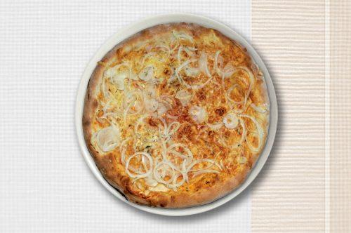 Abbildung von einer Pizza Cipolla