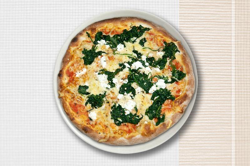 pizza spinaci pizzera fontana v sendorf. Black Bedroom Furniture Sets. Home Design Ideas